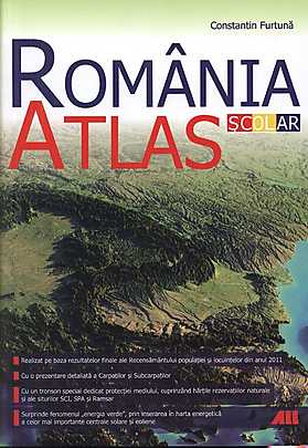 Romania. Atlas scolar  - Constantin Furt