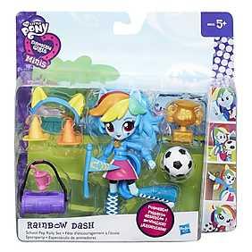 My Little Pony, Set Equestria Girls Minis - Petrecere in pijamale, Rainbow Dash