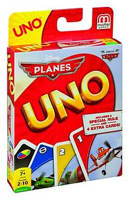 Joc Uno, Disney Planes