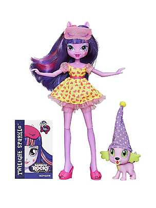 My Little Pony, Papusa Equestria Twilight Sparkle si Spike
