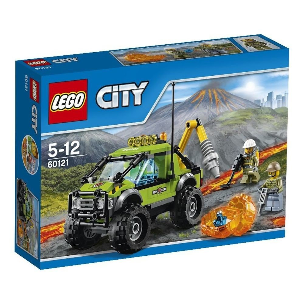 Lego lego city camion de explorare a vulcanului 60121 - Camion de police lego city ...