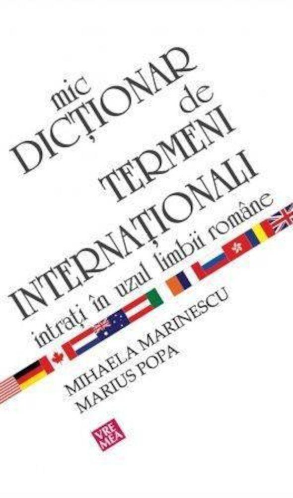 pdf epub ebook Mic dictionar de termeni internationali intrati in uzul limbii romane