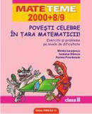 Povesti Celebre In Tara Matematicii Exercitii Si Probleme Pe Nivel De Dificultate. Clasa a II-a