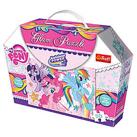 Trefl - Puzzle Glam My Little Pony, 50 piese