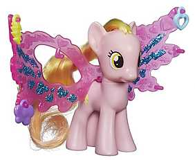 My Little Pony - Cutie Mark Magic, Figurina ponei cu aripi - Honey Rays