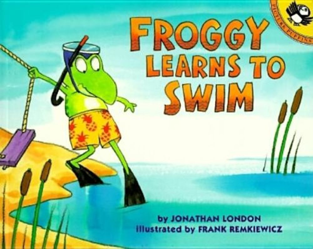 Froggy Learns to Swim, Paperback pdf pret librarie elefant oferta
