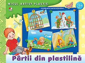 Partii din plastilina. Activitati pentru copiii de la 5 la 9 ani