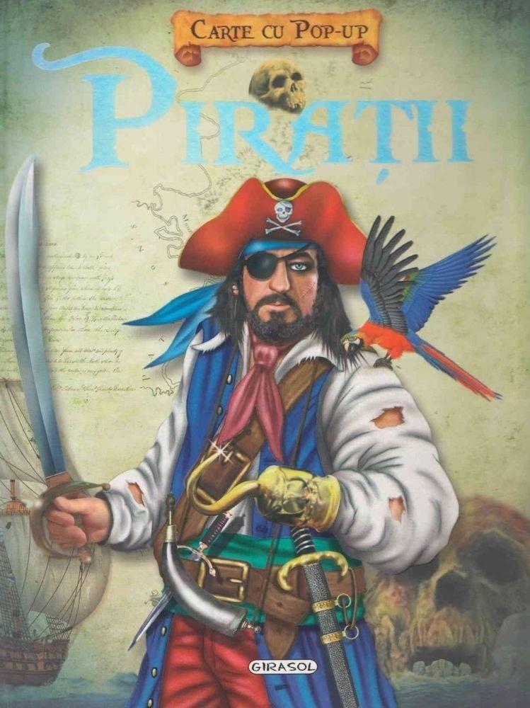 Piratii, carte cu pop-up