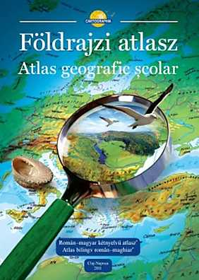 Atlas geografic scolar. Editie bilingva