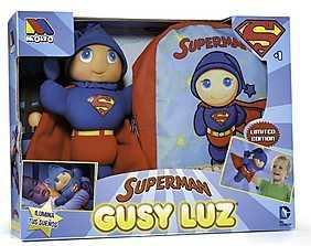 Molto - Set Papusa si rucsac Gusy Luz Superman