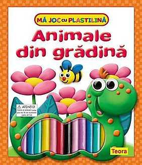 Ma joc cu plastilina - Animale din Gradina