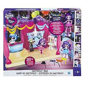 My Little Pony, Set Equestria Girls Minis - Petrecere la liceul Canterlot
