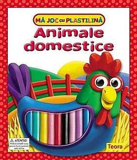 Ma joc cu plastilina - Animale domestice