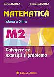 Matematica M2 Clasa A Xii-a. Culegere De Exercitii