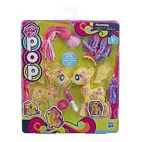 My Little Pony, Set Ponei Pop cu accesorii - Fluttershy