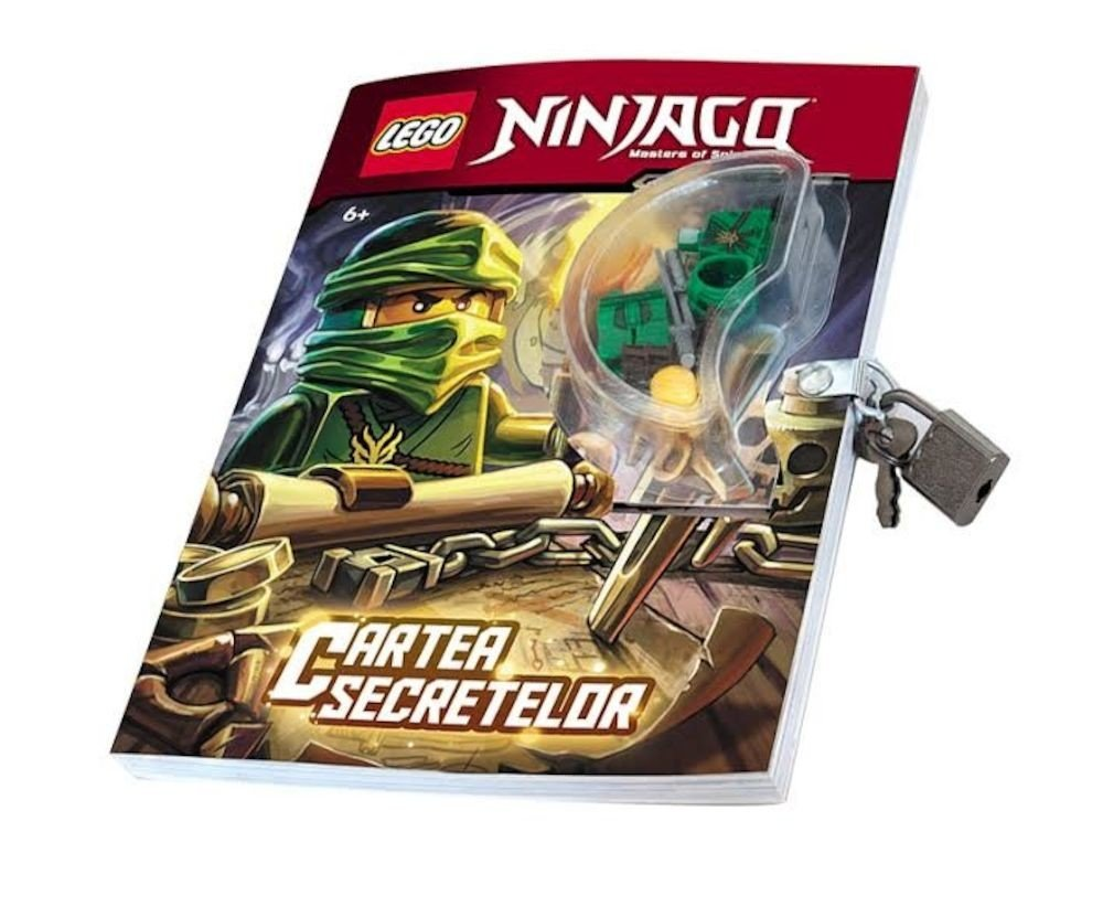 Lego ninjago cartea secretelor - Carte ninjago ...