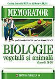 Memorator De Biologie Animala Si Vegetala Pentru Clasele Ix-x