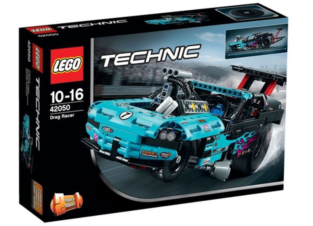 lego lego technic 2 in 1 dragster 42050. Black Bedroom Furniture Sets. Home Design Ideas