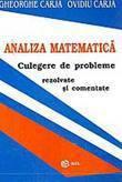 Analiza Matematica. Culegere De Probleme Rezolvate Si Comentate