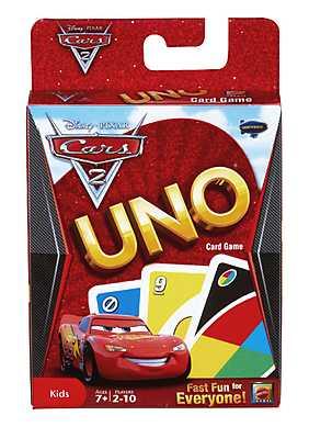 Joc Uno, Cars