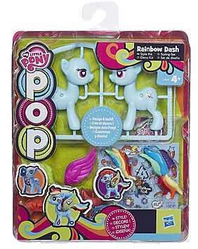 My Little Pony, Set Ponei Pop cu accesorii - Rainbow Dash