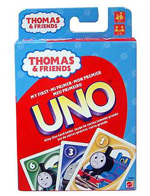 Joc Uno, Thomas & Friends