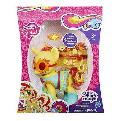 My Little Pony - Cutie Mark Magic, Figurina ponei Fashion - Sunset Shimmer