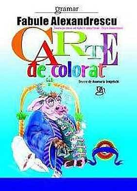 Fabule Alexandrescu - Carte de colorat