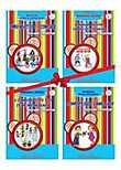 Set 4 Carti A4 Color Pentru Grupa Mare / Pregatitoare - (pe Domenii Experientiale) - 2011 - Comorile Din Gradinita