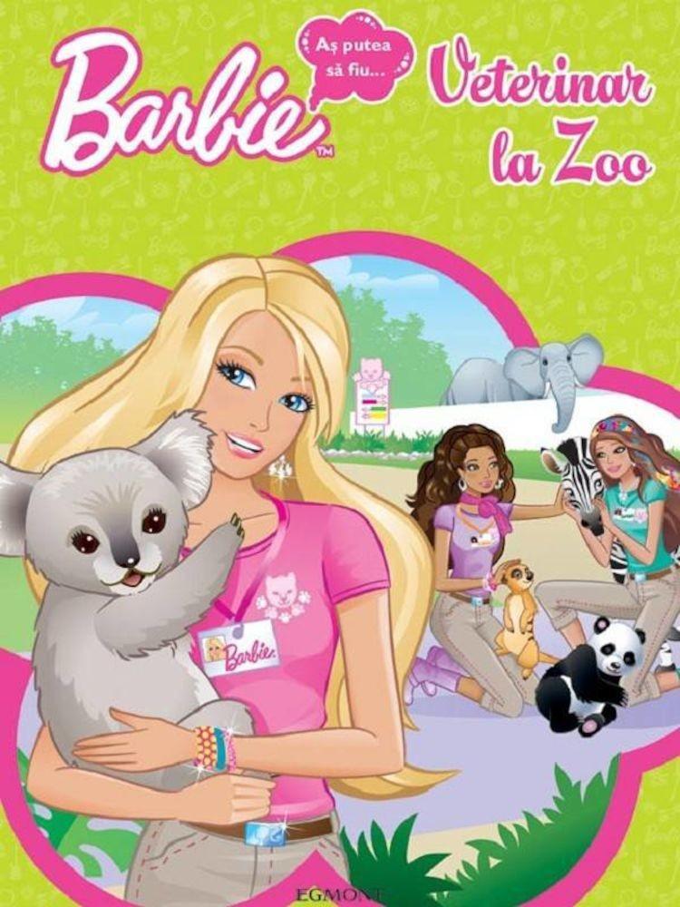 pdf epub ebook Barbie. As putea sa fiu...veterinar la ZOO. Editia 2012