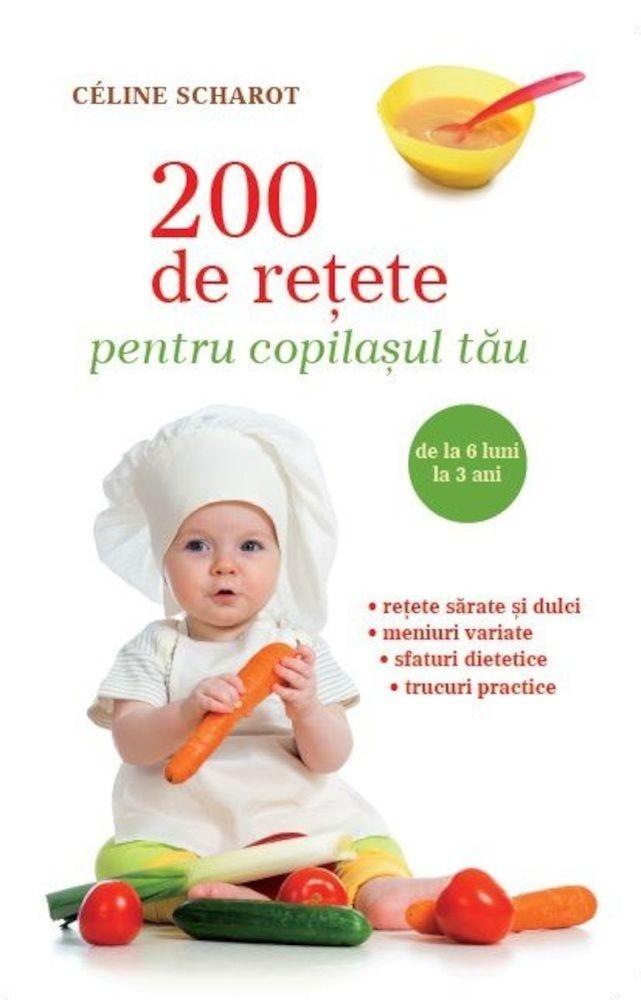 pdf epub ebook 200 de retete pentru copilasul tau