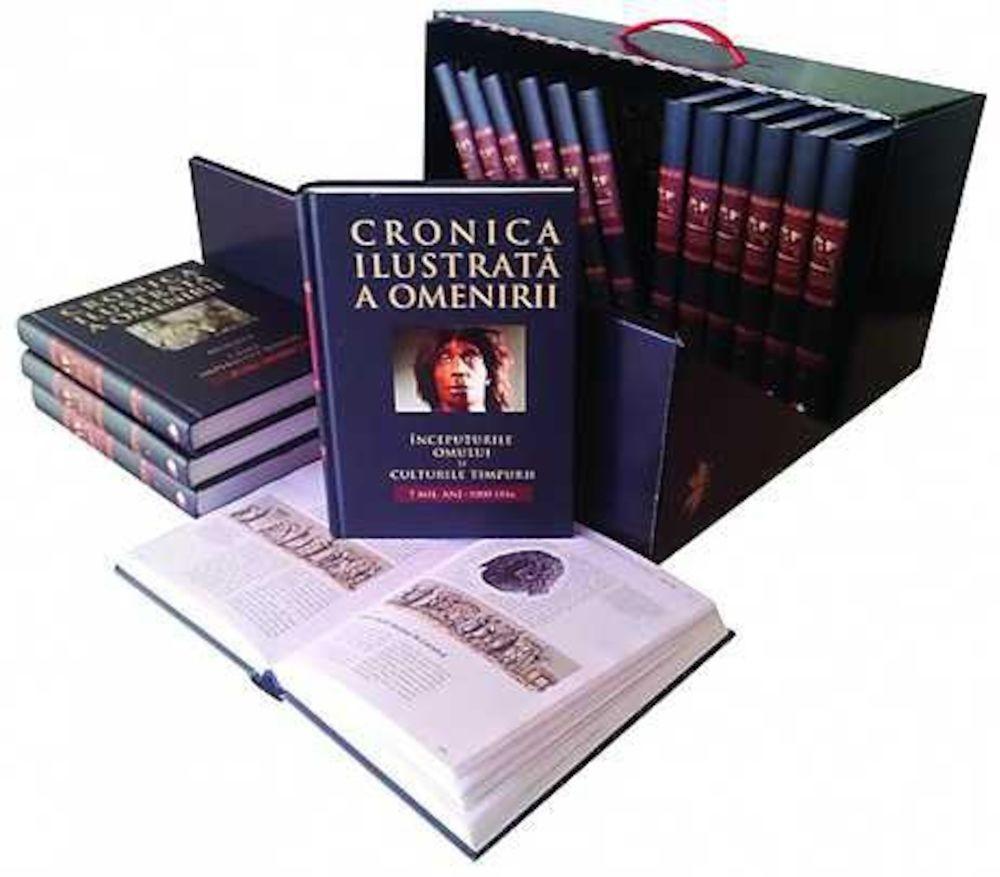- Pachet: Cronica ilustrata a omenirii (16 volume) -