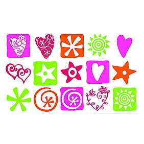 Set creativ Stampo Kids - Semne magice