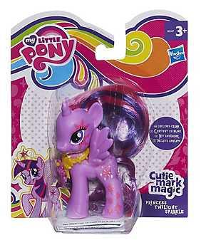 My Little Pony - Cutie Mark Magic, Figurina ponei Printesa Twilight Sparkle