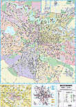 Harta de perete - Planul orasului Bucuresti