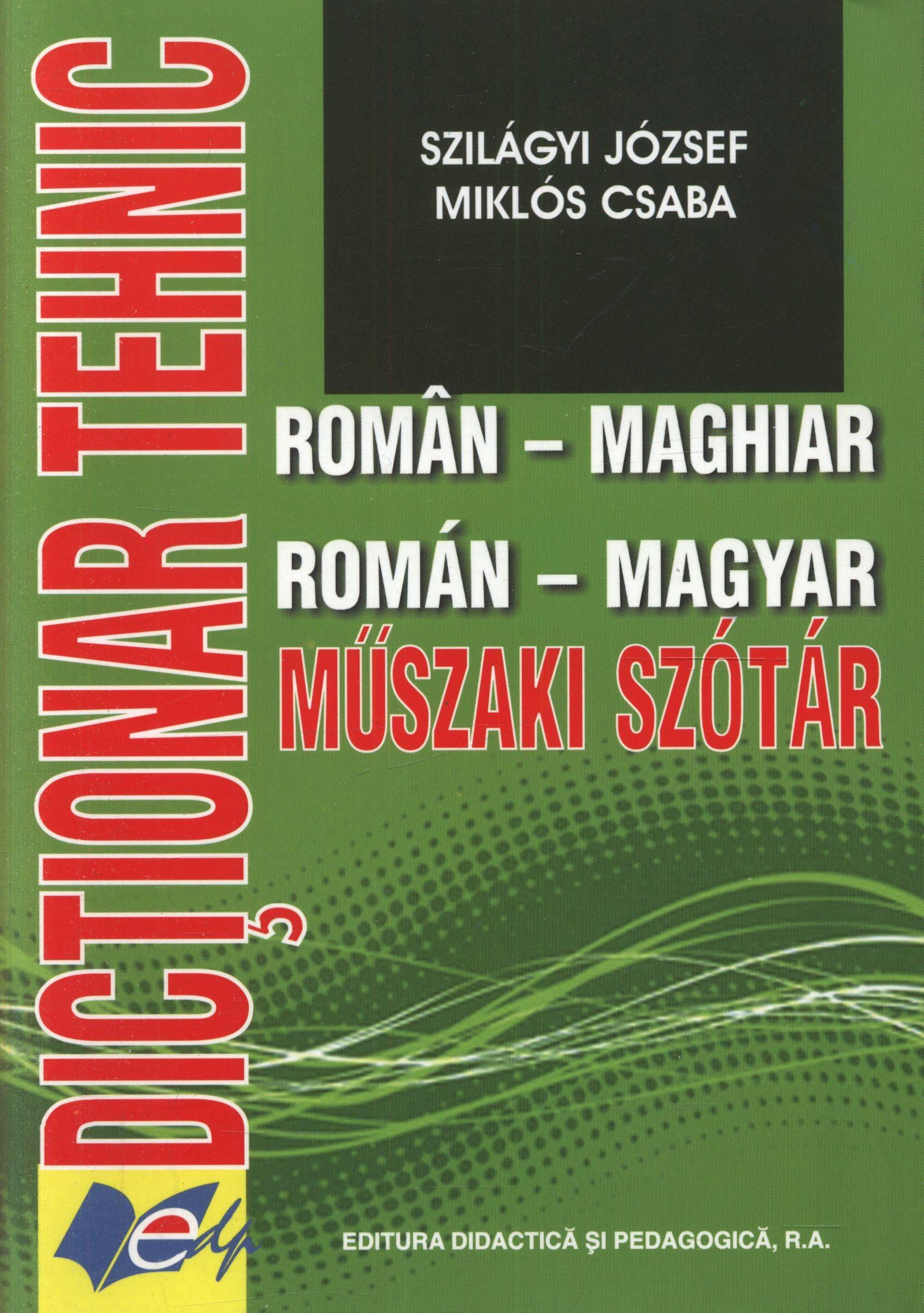 dictionar roman maghiar