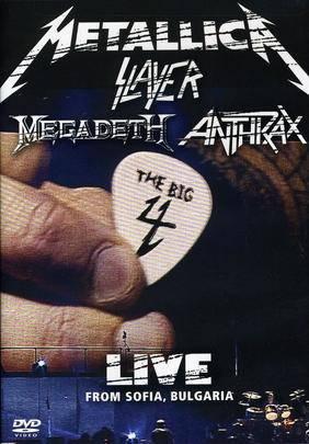 Metallica/Slayer/Megadeth/Anthrax: The Big 4. Live from Sofia, Bulgaria - Array