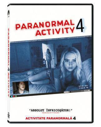 Activitate paranormala 4 - Array