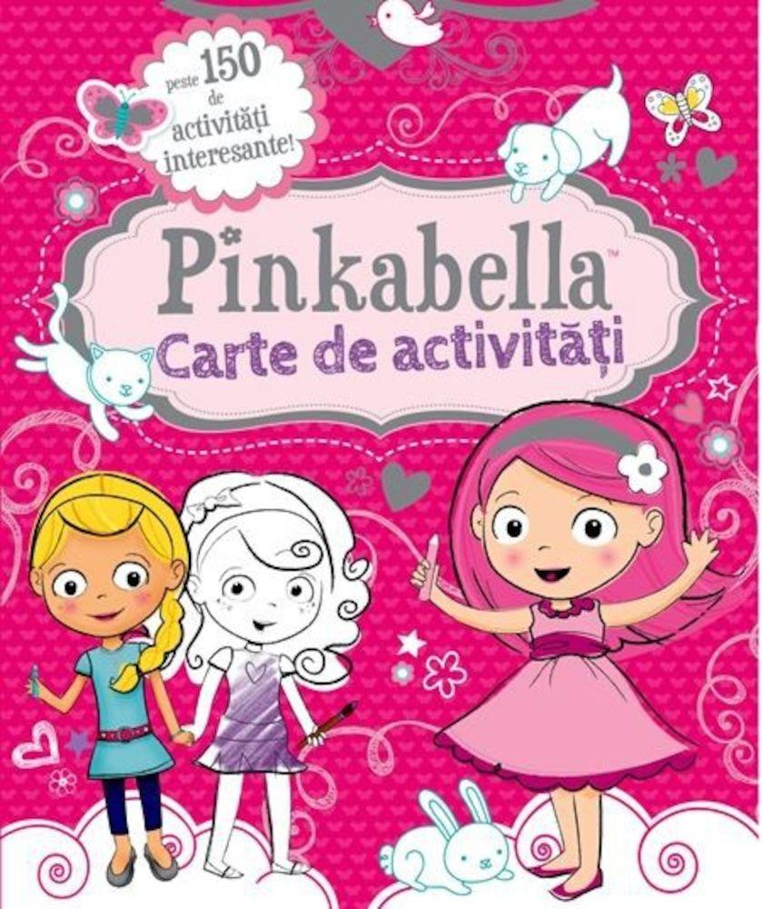Pinkabella, carte cu activitati
