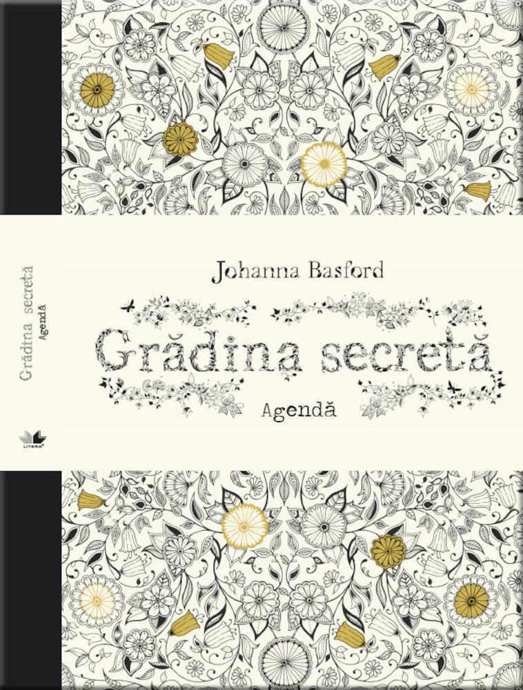 Johanna Basford - Agenda antistres - Gradina secreta -