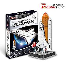 Puzzle 3D - Naveta Spatiala Discovery, 87 piese