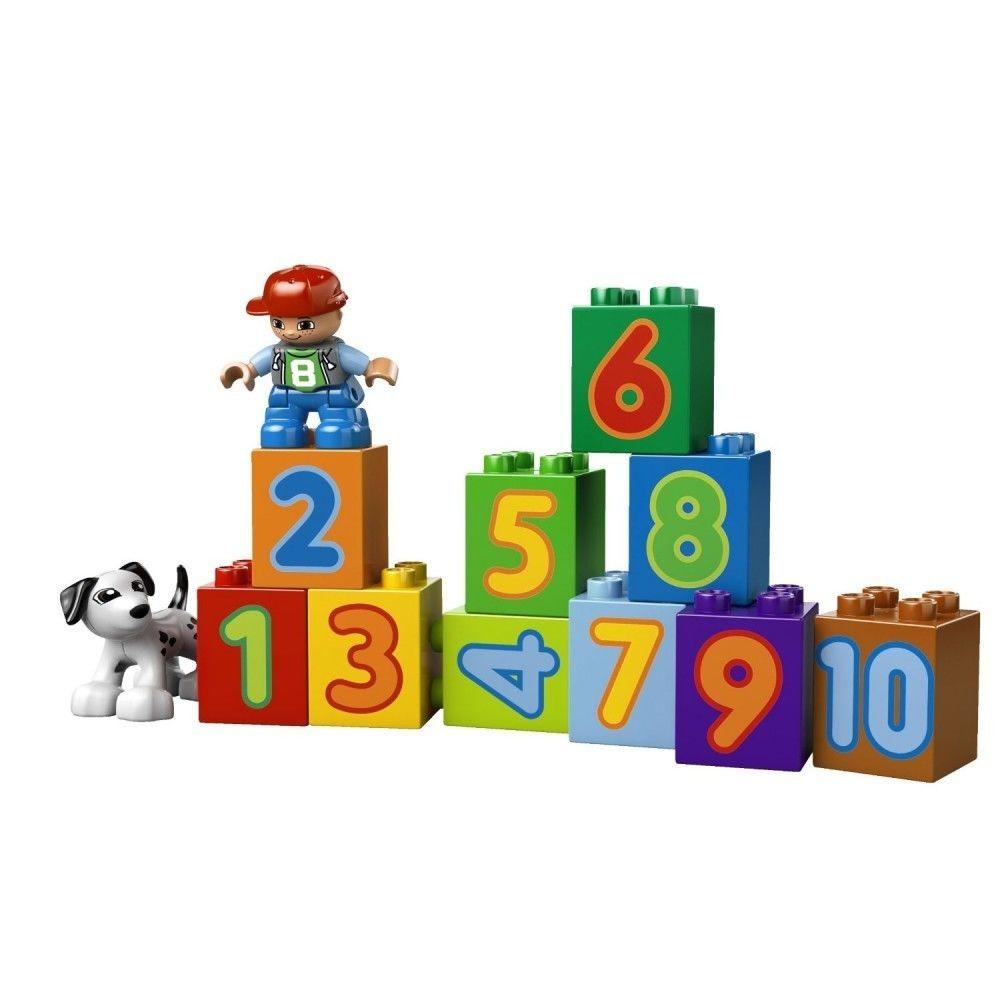 Lego Lego Duplo Trenul Cu Numere Elefant Ro