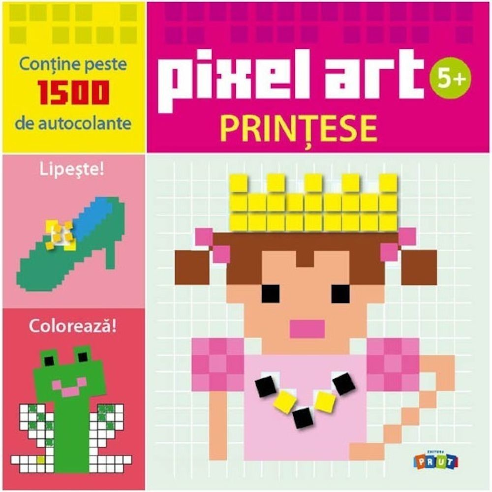 Pixel Art. PRINȚESE