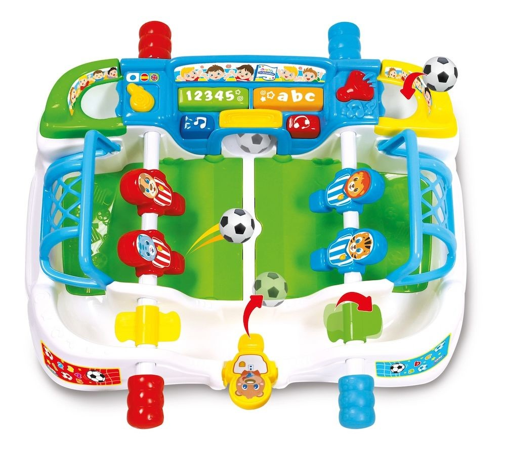 ac973d12b4934 Clementoni - Jucarie interactiva Masa de fotbal - - elefant.ro