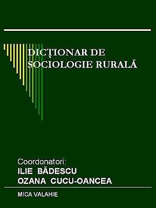 Dictionar de sociologie rurala - Array