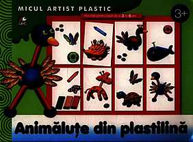 Animale din plastilina. Activitati pentru copiii de la 3 la 5 ani