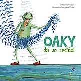 Oaky da un recital  - Martin Zick, Georgiana Chitac, (ilustra