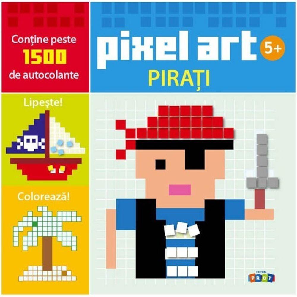 Pixel Art. PIRAȚII