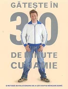Carte - Gateste in 30 de minute cu Jamie, Jamie Oliver