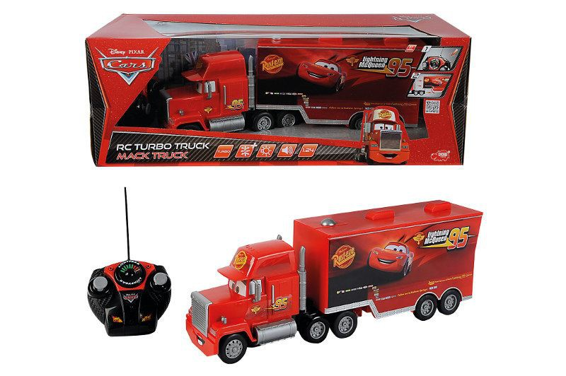 dickie toys cars camion rc turbo mack 45 cm. Black Bedroom Furniture Sets. Home Design Ideas